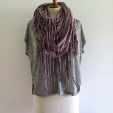 DUSTY PINK CIRCLE SCARF!
