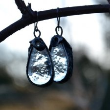 szklane kropelki