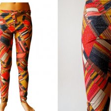 RECYCLING leggins, leginsy,
