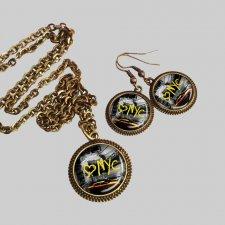LOVE NYC :: komplet biżuterii