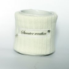 Ocieplacz na kubek sweater weather święta christmas prezent cup warmer