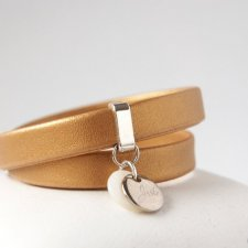 GOLDEN LEATHER BELT