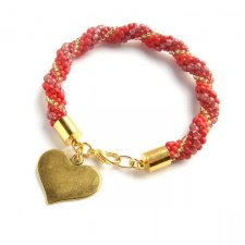 Bransoletka Red&Gold Amor