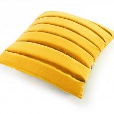 Level poduszka dekoracyjna 40x40 cm. żółta - MOODI