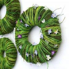Zestaw wiosenny wianki&zające