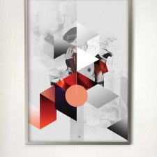grafika GEOMETRIC WOMAN I