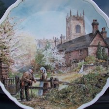Village Life Royal      Doulton  Anthony Forster 1989