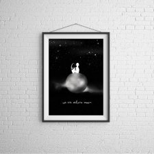 We Are Sailors Moon - plakat autorski