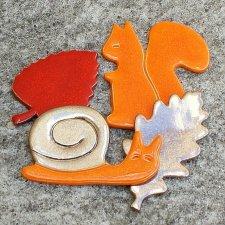 Zestaw magnesów jesiennych