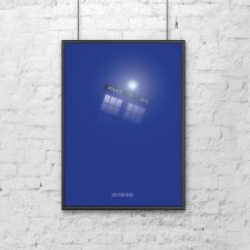 DOCTOR WHO - B2 - plakat filmowy