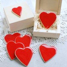 Walentynkowe serduszko magnes