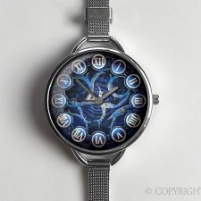 Steampunk 0505 - zegarek z dużą tarczką - Egginegg