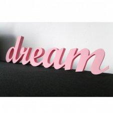 Napis przestrzenny DREAM