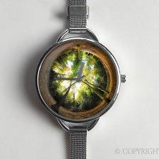 Las 0119 - zegarek z dużą tarczką - Egginegg