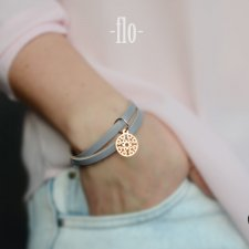 flo light grey floral gold