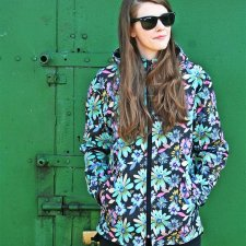 KURTKA FLOWER TAIL JACKET UNISEX