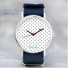 12 % LOVE dots Watch - Black