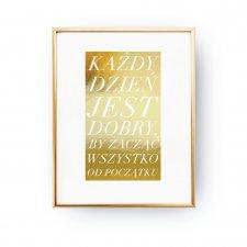 Plakat Z Przesłaniem W Decobazaar