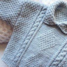 Sweterek z warkoczami