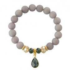 EARTH ENERGY - mat,grey jade.
