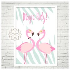 "Plakat ""Magic party"" A4"