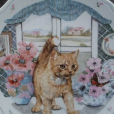 Royal Albert 1988 the  country kitten collection   nr. 1 w serii