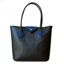 shopper blue&black