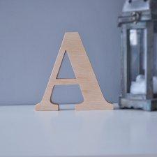 Drewniane litery dekoracyjne 20cm