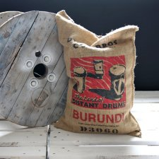 Poducha - Burlap Coffee Bag - Burundi