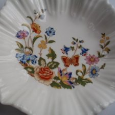 Aynsley Cottage Garden fine English Bone China oryginalna elegancka paterka