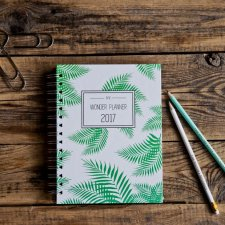 GREEN FOREST Wonder Planner 2017