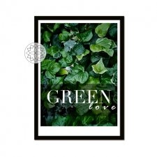 "Plakat ""Green love"" A3"