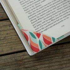 2 zakładki narożne do książek  - Listki