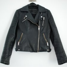ZARA JACKET FAKE LEATHER ROZ. S