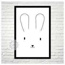 """Plakat """"Bunny"""" A3"""