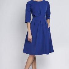 Sukienka, SUK122, indygo