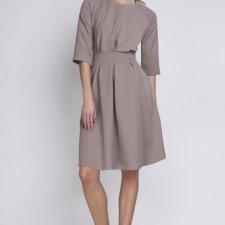 Sukienka, SUK122, beż