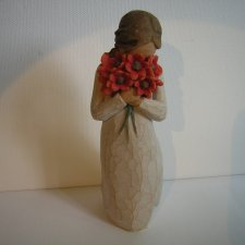 surrounded by love 2009 willow tree  Susan Lordi   Demdaco kolekcjonerska figurka