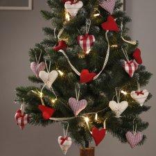 Serduszka na świąteczne drzewko i nie tylko