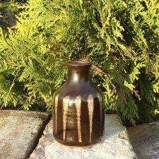 piękny sygnowany ceramiczny wazonik