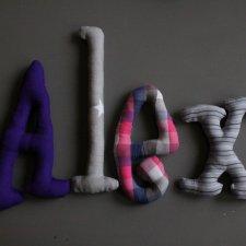 literki na zamówienie ALEX
