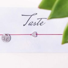 WHW Taste Heart On Red String