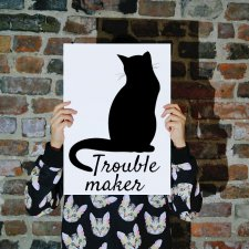 "Plakat A3 ""Trouble Maker"""