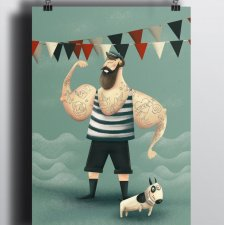 "Plakat ""Mr Sailor"""