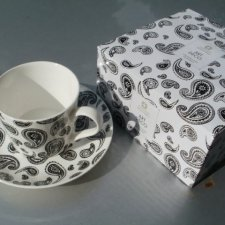 art deco cashmere maxwell &Williams  Fine Bone China cup and saucer