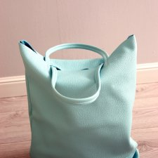 Oversize Tote Baby blue