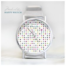 Multicolour Love Dots