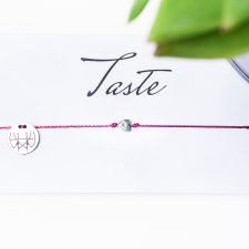 WHW Taste Tiny Heart On Fuchsia String