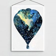 "Plakat A4 ""To the Stars"""