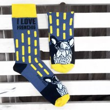 Męskie Frenchie Socks!